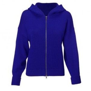 CAbi 5460 Electric Blue dress up hoodie sweater